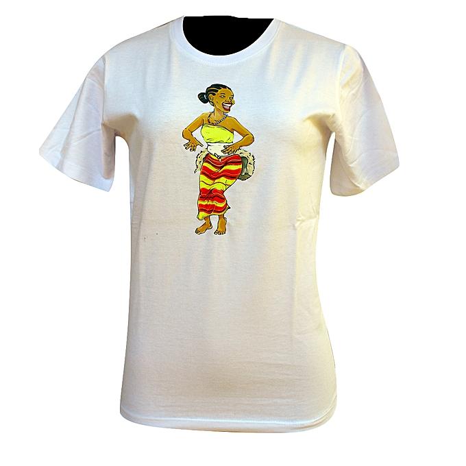 8b2fa2e8 Buy Generic Unisex T.Shirt (Uganda Traditional Ganda Dance Design ...