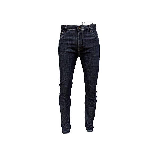 ecfd4c9ce5d3ed Buy Generic Men's Designer Slim-Fit Jeans - Blue online | Jumia Uganda