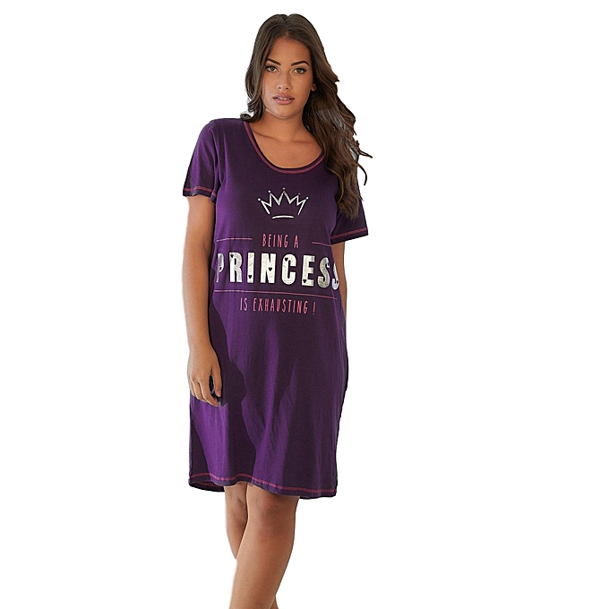 Generic Ladies  Yours Being A Princess Is Exhausting Nightshirt ... b7e087596