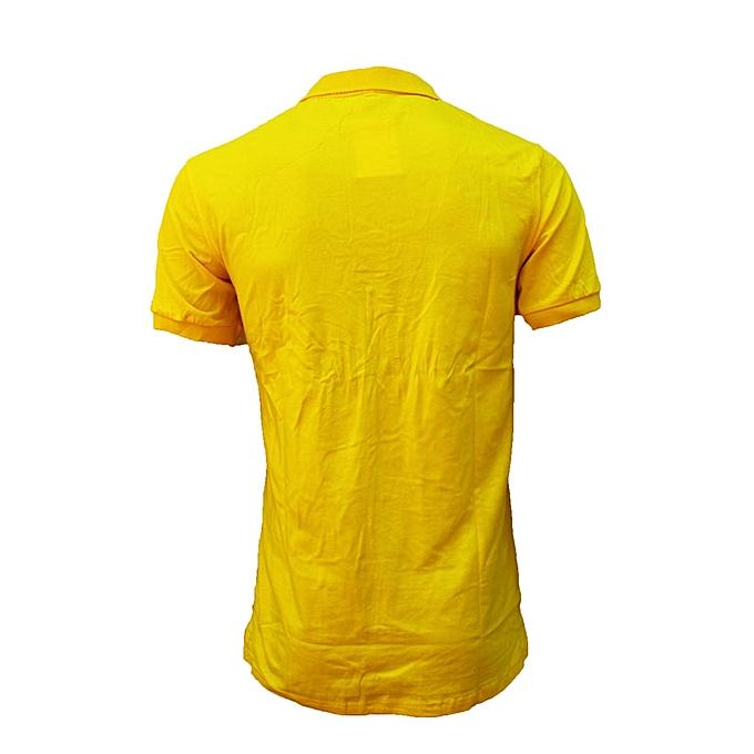 36c6ead5c Men's Polo T-Shirt - Yellow | Jumia Uganda
