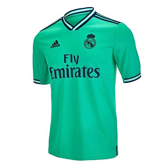 watch 7349f c1457 Replica Real Madrid 2019/2020 Short Sleeve Jersey - Light Green