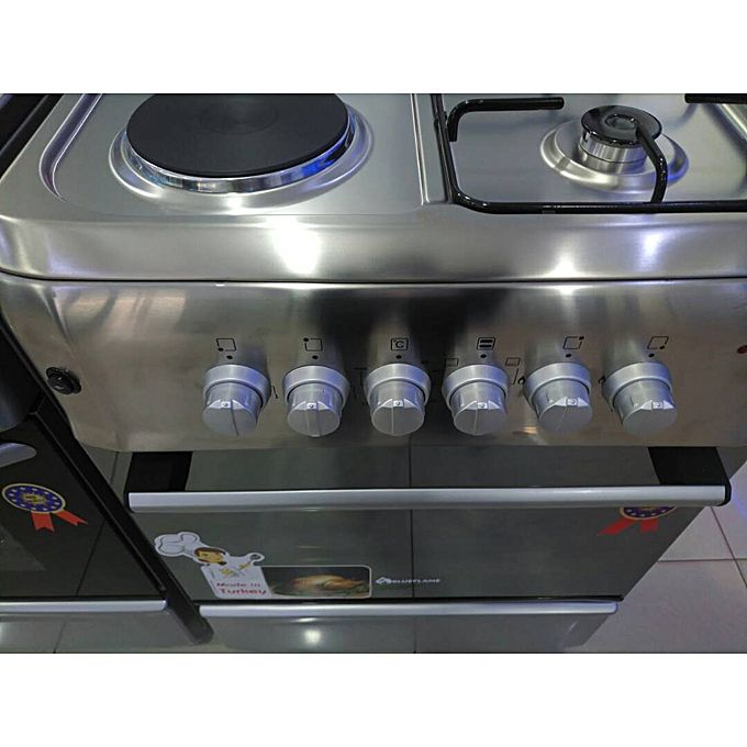 S6022e i l r 2 gas plates 2 electric plates gas cooker for Aaina beauty salon electronic city