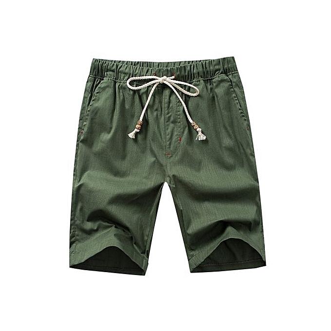 efd8e1a601 2018 Newest Summer Casual Shorts Men Cotton Style Mens Shorts Bermuda Beach  Plus Size 16 COLOR