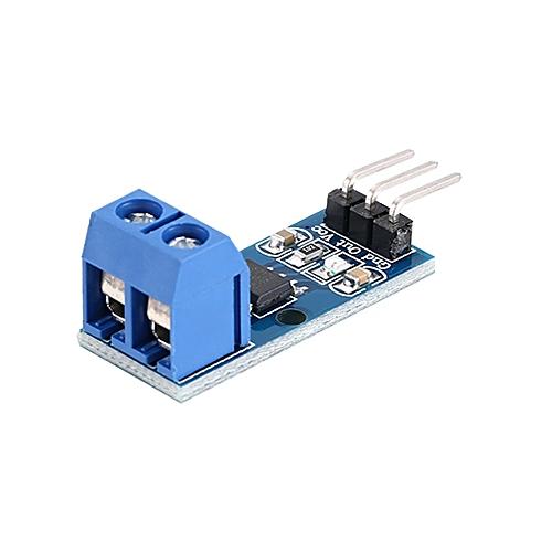Hall Current Sensor Module Mode Board ACS712 5A Hall Effect Model for  Arduin blue