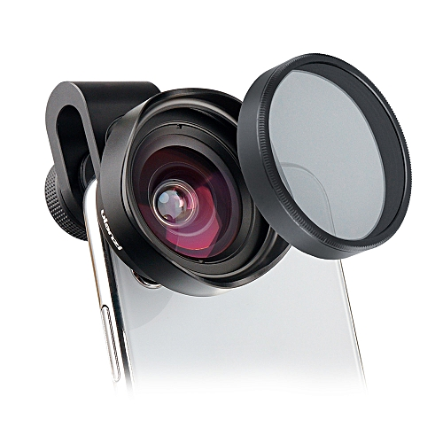 Ulanzi 16mm HD Wide Angle Phone Lens w/ CPL Camera Lens Filter Universal  for iPhone Samsung HUAWEI Smartphone