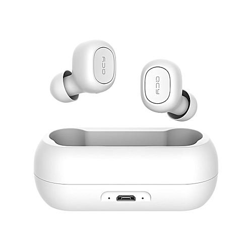 4d8eeeac306 Buy QCY Xiaomi QCY T1C Bluetooth 5.0 TWS Earbuds True Wireless Headphones  with Dual Mic In-ear Stereo Earphones Twins Sports Headset Charging Box  online ...