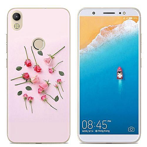 df6b2e2a1b Buy Generic TECNO CM Phone Case Luxury cute Soft TPU Back Cover Silicone  Clear Cartoon online | Jumia Uganda