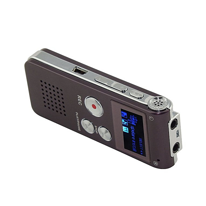 8GB Digital Voice Recorder Dictaphone Recording Pen MP3 Player wine red