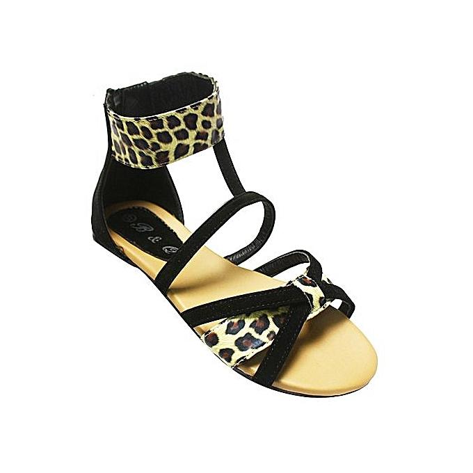 Uganda Sandals Print BlackJumia Gladiator Animal eE2WD9YIH