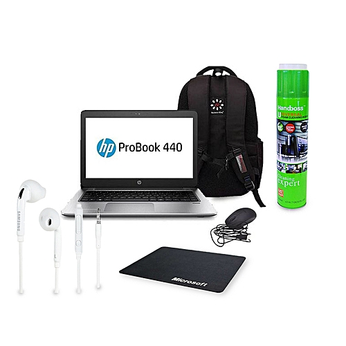HP Pro Book G2 440 Business Laptop, 14'', Intel i5, 8GB RAM, 500GB HDD, 8th  Generation, Windows 10 - Plus FREE Laptop Back Pack And Wired Mouse +