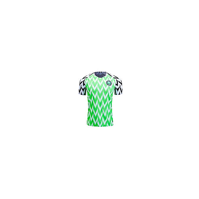 best sneakers 40f2f e053d Nigeria 2018 FIFA World Cup Jersey, Replica - Green,White.Black