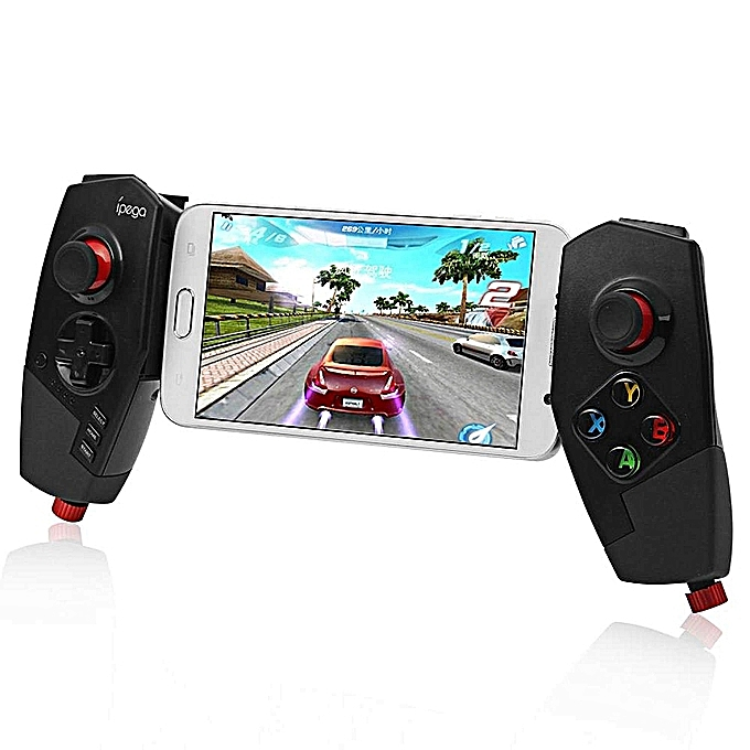 Wireless Bluetooth Game Controller Joystick With Stretch Bracket For IOS  Ipad Android Smartphone TV