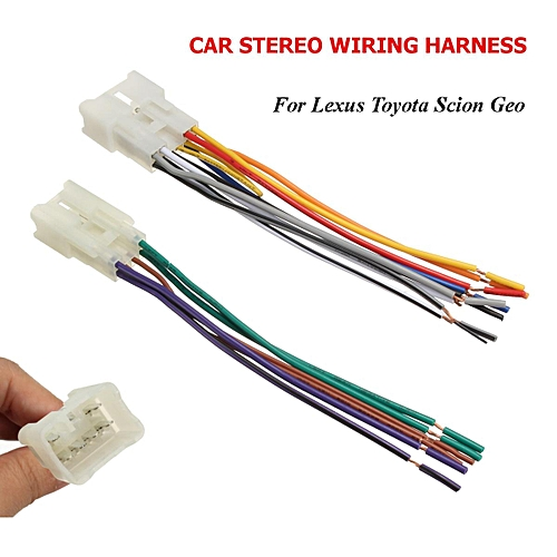 buy generic car stereo cd player wiring harness wire adapter plug for  aftermarket radio online | jumia uganda