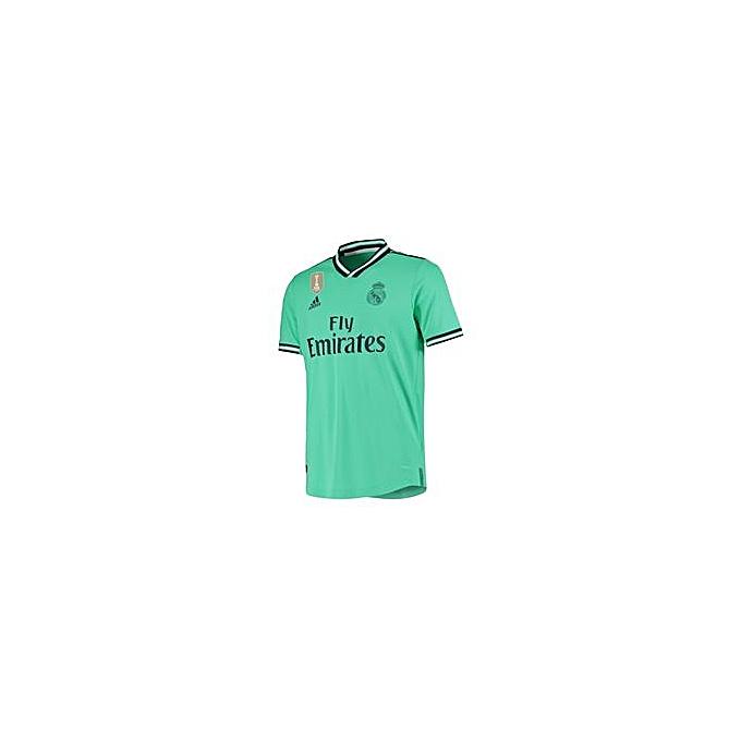 hot sale online 9bd8a 7d724 Replica Real Madrid 2019/ 2020 Away Kit - Light Green