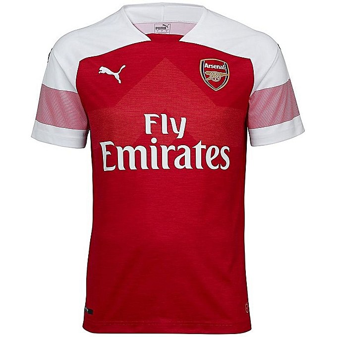 17cc1186f Generic Short Sleeve Replica Arsenal fc 2018 19 Jersey - Red