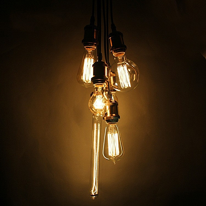Buy B22 110v 220v 40w Candle Vintage Edison Filament: Buy Generic Retro Vintage 40W Edison Light Bulb E27 110V