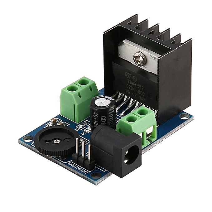 TDA7297 Super Mini DC 6-18V Power Audio Amplifier Board Module Dual Channel  blue&black