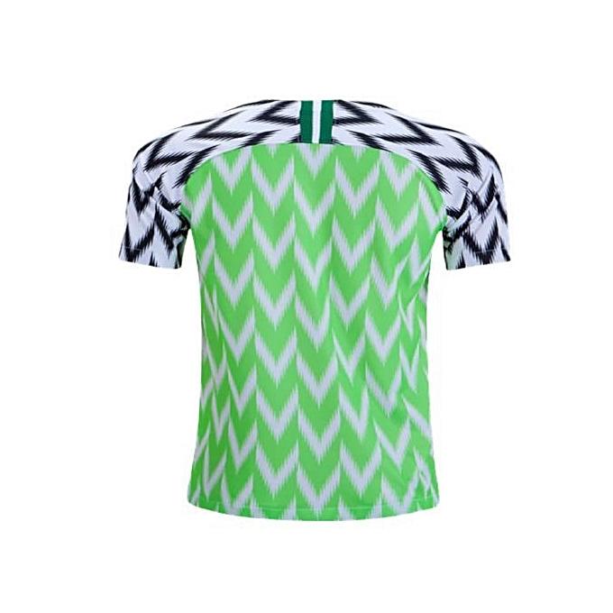best sneakers e9133 d316a Nigeria 2018 FIFA World Cup Jersey, Replica - Green,White.Black