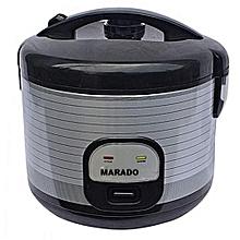 a6fde78d630 Morado Rice Cooker  amp  Steamer - 7 Liter - Black