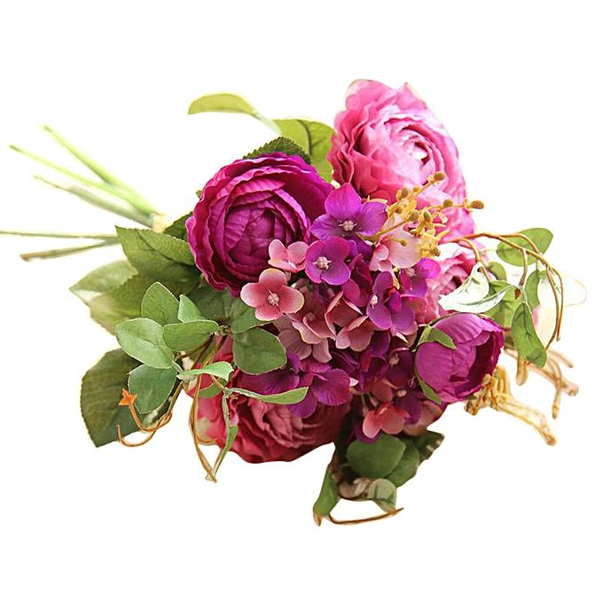 Buy Generic Artificial Fake Flowers Land Lotus Floral Wedding