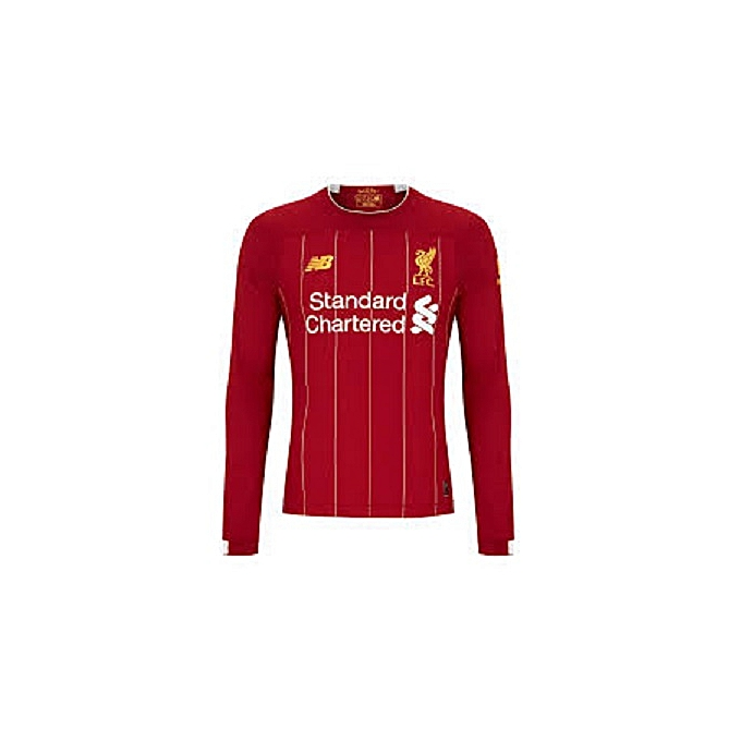 6778c427059 Generic Replica Liverpool 2018/19 Home Jersey Long Sleeve - Red ...