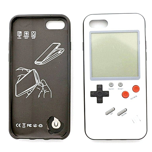 reputable site 7a40c 5894e Vintage Back Game Phone Case Protective Cover For Tetris Game For iPhone  black iPhone6/6S