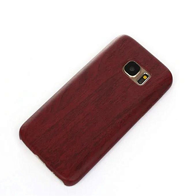 best service ce3c0 7915c Hiamok Luxury Leather Ultra-thin Wood Grain Case Cover For Samsung Galaxy  S7 RD