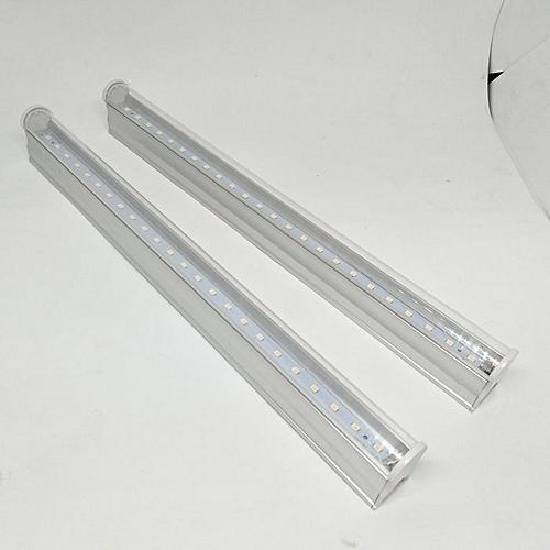 2 pcs Led Grow Light T5 Tube LED Full Spectrum Indoor Lamp For Plant white
