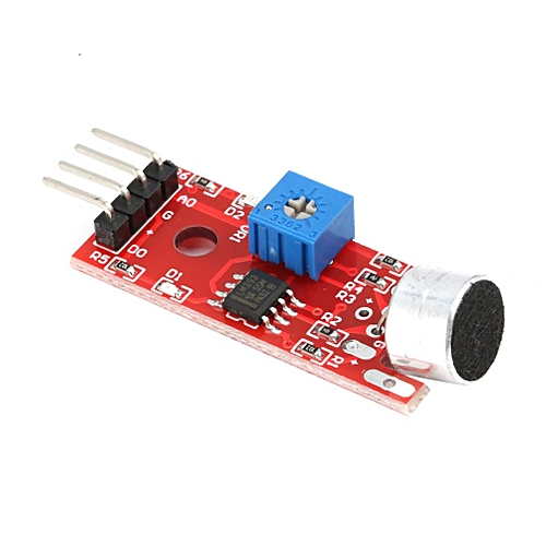 KY-037 Voice Sound Detection Sensor Module Microphone for Arduino Sensitive  red