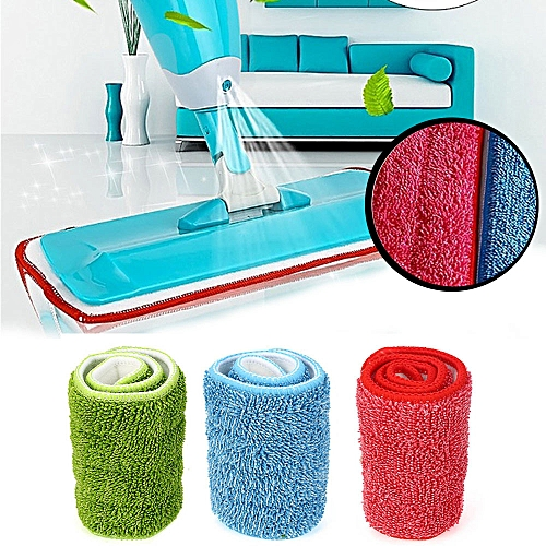 (Xiuxingzi) 3pcs Replacement Microfiber Washable Spray Mop Dust Mop  Household Mop Head Clean