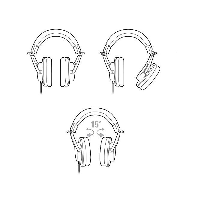 buy generic audio -technica ath-m20x professional monitor headphones