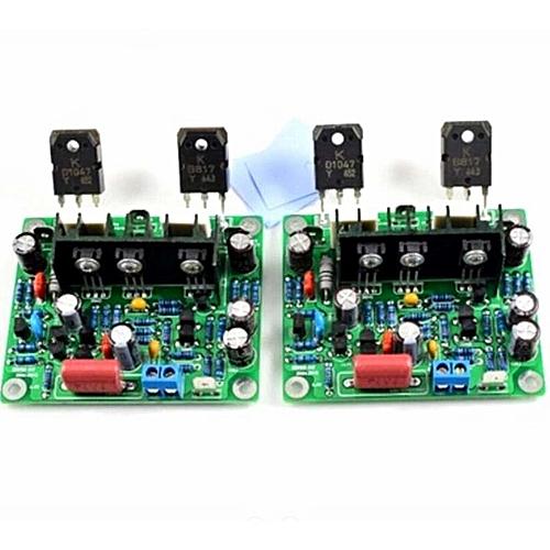 2pcs HiFi MX50 se 2 0 dual channel 2x100W Stereo Power amplifier KIT green