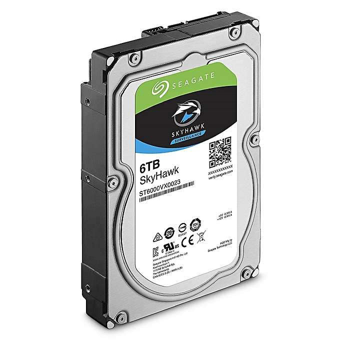 Seagate skyhawk st6000vx0023 3 5 6tb 256mb cache for Aaina beauty salon electronic city