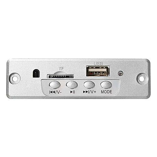 Glitzy Bluetooth 5V MP3 WMA Decoder Board Audio Module TF USB Radio for Car