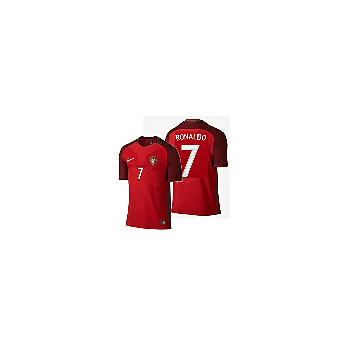 new products 9e1f5 9ed7a Ronaldo- Portugual 2018 FIFA World Cup Short Sleeved Jersey - Red