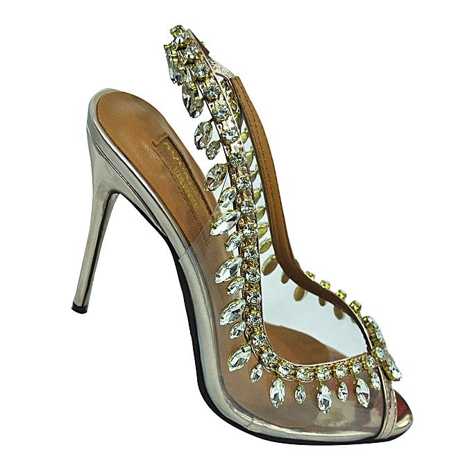 7716d95d0e0 Women's Aquazzura Firenze Peep Toe High Heel - Glass And Bronze
