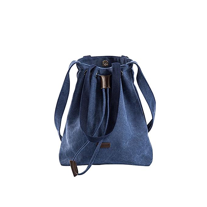 fa9c46b81e2 Haimok Womens Canvas Handbag Shoulder Bags Tote Purse Travel Large  Messenger Hobo BagBU