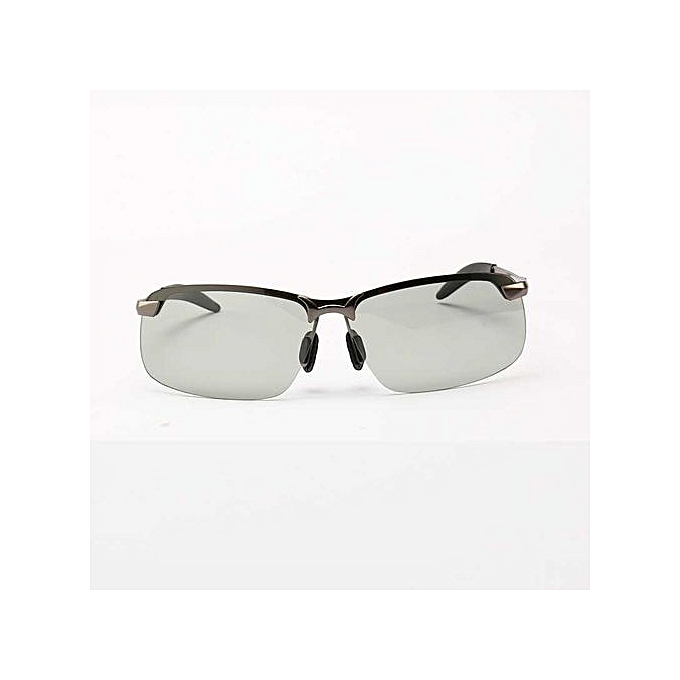 c6a3a1fa91 HD Lens Photochromic Polarized Sunglasses Men Driving Day and Night Vision  - Clear