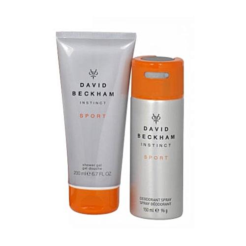 2 Pack Of David Beckhams Instinct Sport Grey Orange Jumia Uganda