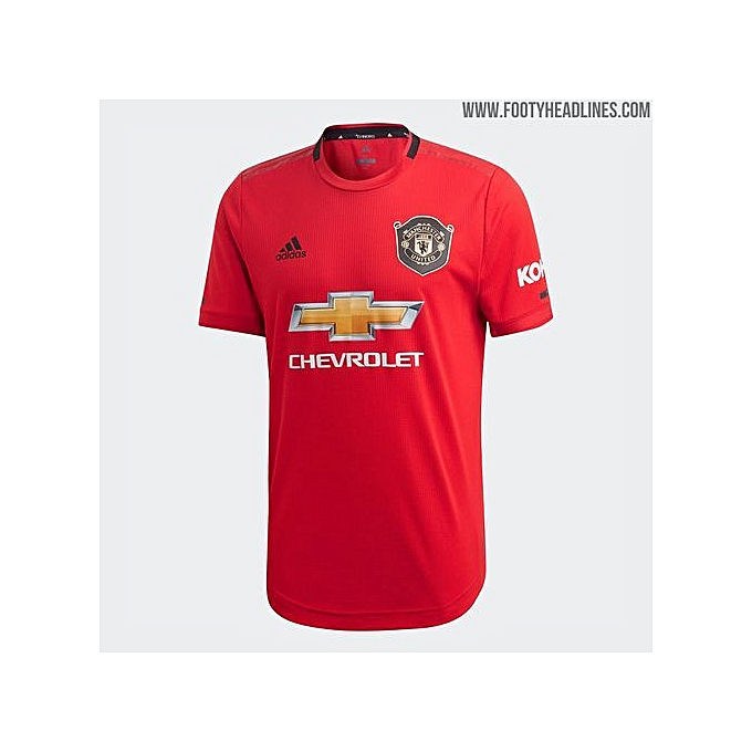 separation shoes 48124 63b83 Manchester United Home L/S Jersey 2019/2020 - Red