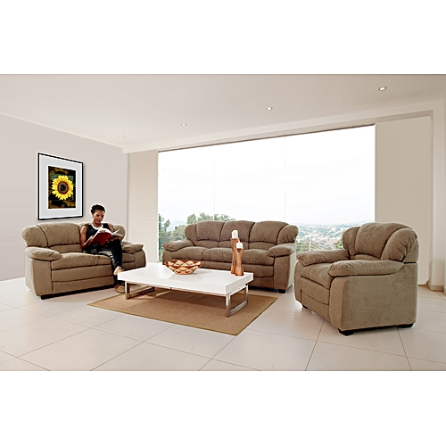 Sofa Sets In Uganda: - 6 Seater Richmond Sofa Set (3+2+1) - Beige