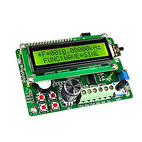 DDS Function Signal Generator LED Display Source Frequency Counter DDS  Module green