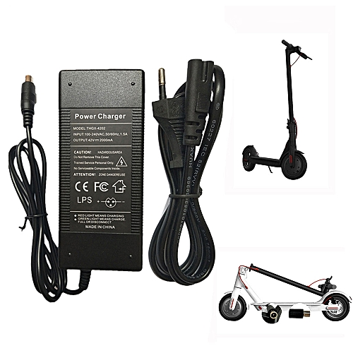 Scooters EU Plug Battery Charger For Xiaomi M365 Segway Ninebot ES1