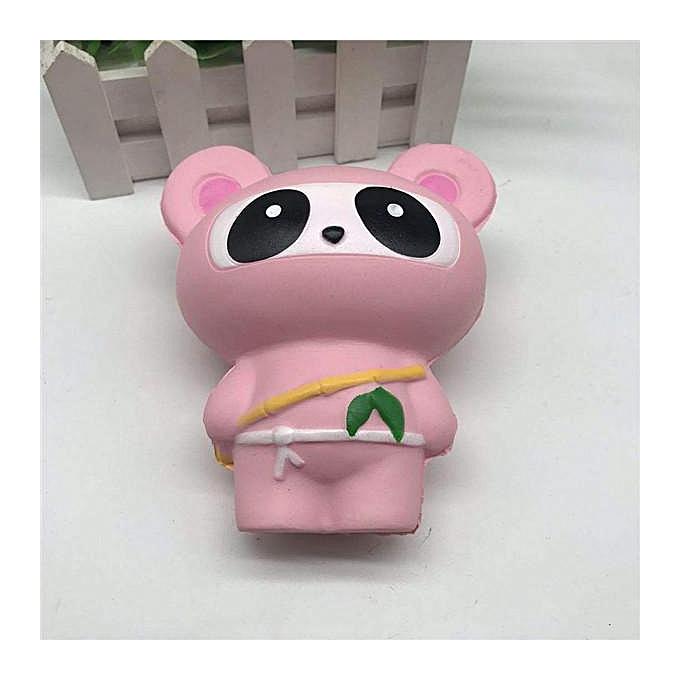 14cm kawaii Cute Jumbo Ninja Cat Scented Super Slow Rising Kids Toys Gift