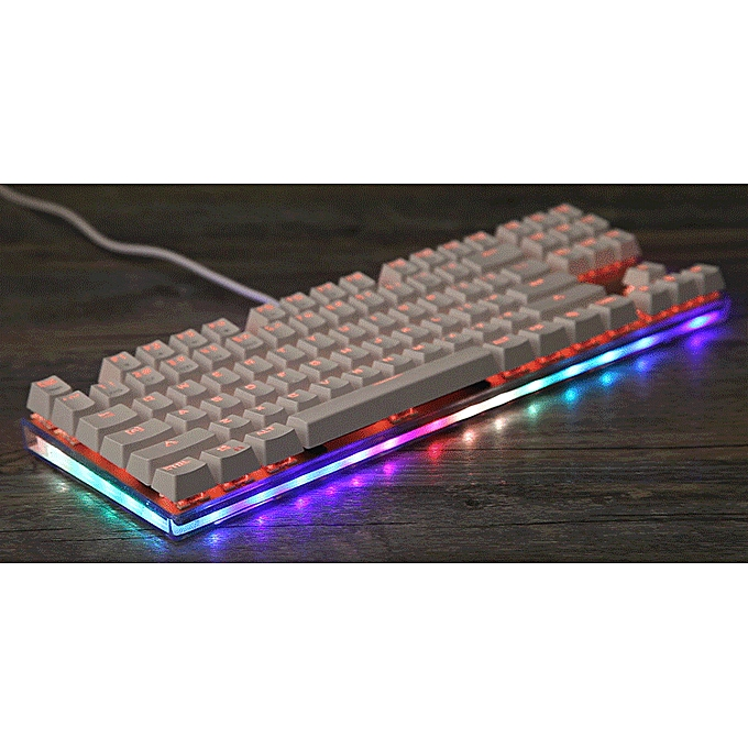 0781d9198ad ... MOTOSPEED K87S Mechanical Keyboard Gaming Keyboard USB Wired Gaming  Keyboard Customized LED RGB Backlit with 87 ...