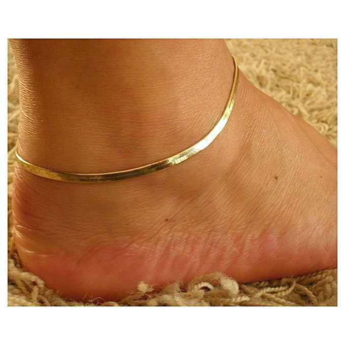 827def69ce1 New Fashion Sexy Silver Anklet Gold Ankle Bracelet Foot Jewelry Barefoot  Sandal
