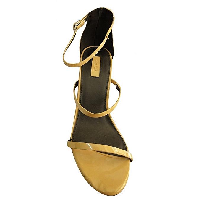 - Designer Women's Smart Formal Casual Wedge Shoes - Beige ...