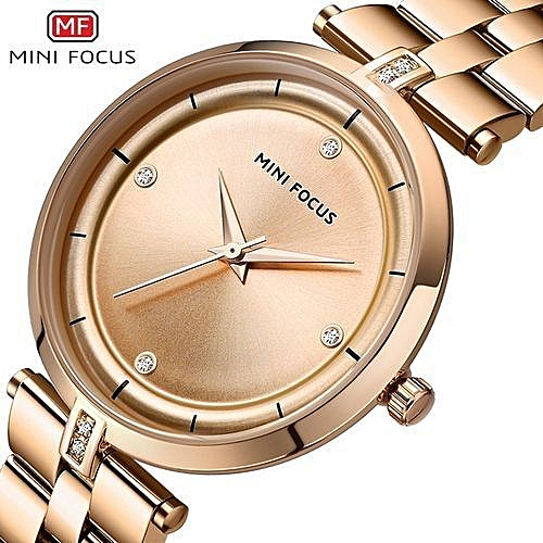 a78864dee Buy Generic Casual Women S Watches Fashion Stainless Steel Minifocus Watches  Luxury Formal Gold Wrist Wa In Women online | Jumia Uganda