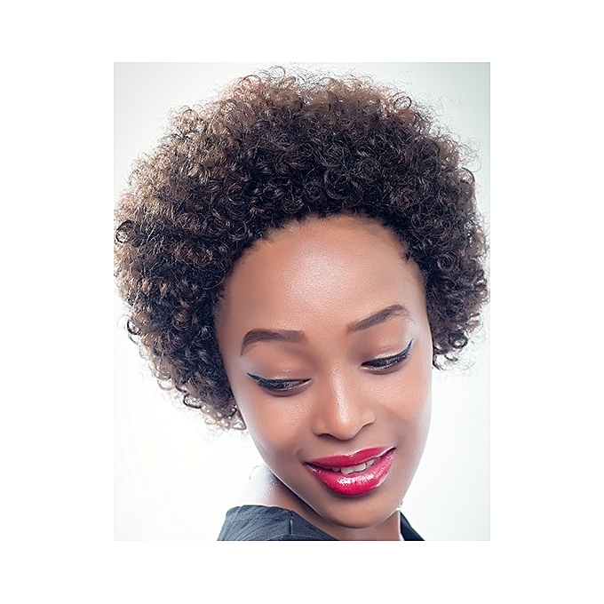 Buy Other Creamily Curly Afro Synthetic Hair Extension Short Curly