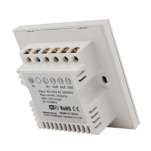 Sonoff T1 Smart WiFi RF / APP / Control Wall Light Switch UK 3 gang